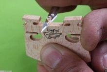 3 (30 шт.) инструмент для изготовления скрипки деревянный проект нож для резки мостика для скрипки простое использование