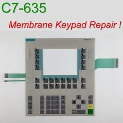 6ES7635-0AA00-6AA0 C7-635 Teclado de Membrana para SIMATIC & GEA HMI Painel de reparação ~ faça você mesmo, Temos em estoque