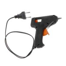 New Portable Art Craft Repair Tool 20W Electric Heating Melt Glue Gun Sticks Trigger