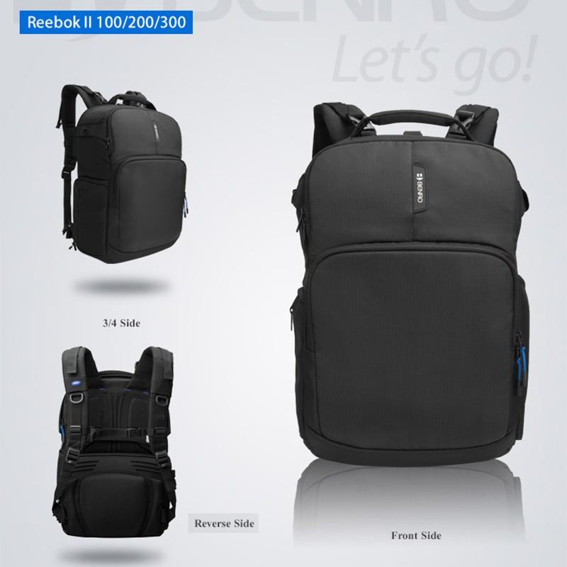 Nuevo Benro Beebok II 100 200 300 bolsa para cámara profesional Nylon impermeable DSLR moda funda para cámara envío gratis