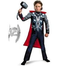 Film Endgame super-héros fête Cosplay Muscle Thor homme capitaine amérique déguisement garçons Batman Cosplay Halloween Superman uniforme