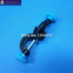 2PCS/Lot Large size 83.5*25mm Right Angle clip Lab Cross clamp Laboratory Metal Grip Supports Laboratory Clamp angular splint