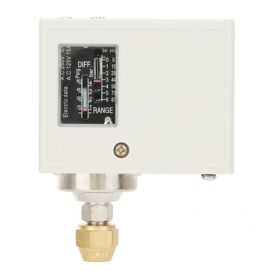 SPC-106E 16.5 Bar de Pressão SPDT Interruptor de Controle Para O Compressor De Ar Da Água 24-380V para o Ar Líquido Refrigerante