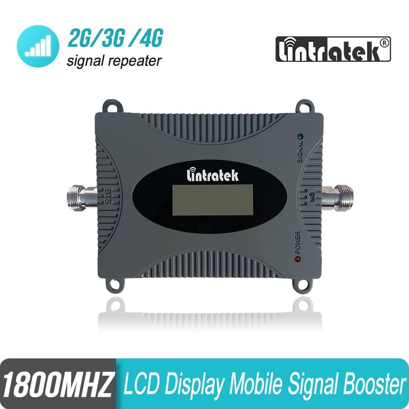 Amplificador de señal de teléfono móvil Lintratek 2G 4G B3 1800mhz tamaño MINI GSM LTE 1800 repetidor de señal de teléfono móvil amplificador #15