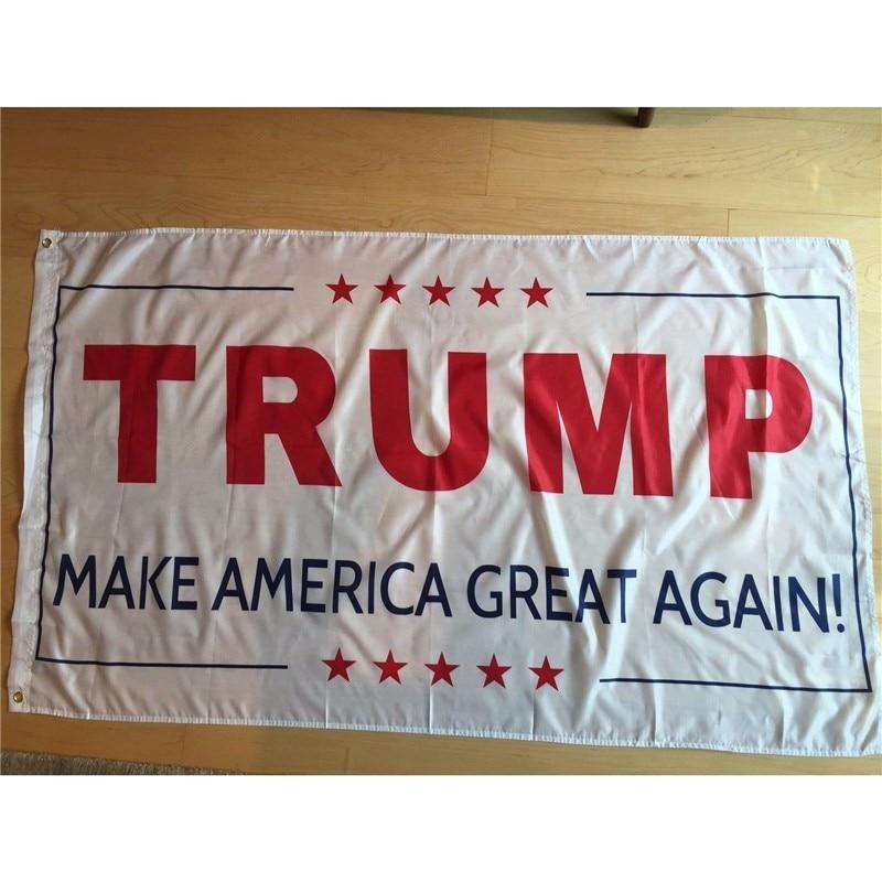 Mais novo 3x5 pé bandeira tornar a américa ótima novamente para o presidente trump cubs lembrancinhas