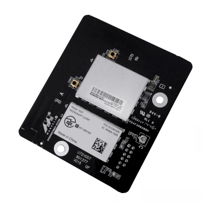 Módulos WIFI para Microsoft Xbox One 1525 WiFi inalámbrico interno Bluetooth Tarjeta de módulo PCB tarjeta módulo reemplazo
