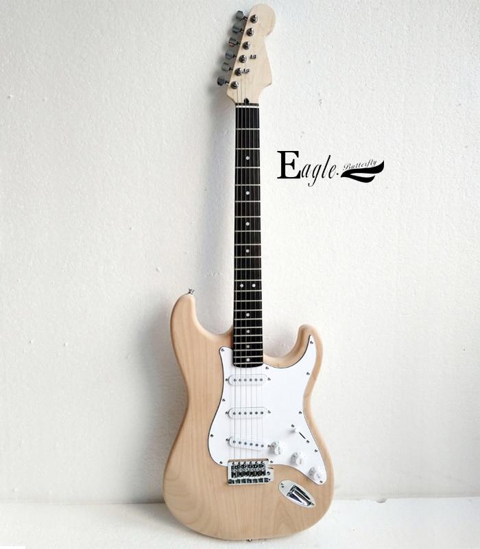 Águila Guitarra Eléctrica mariposa, bajo eléctrico tienda personalizada st guitarra eléctrica color de registro se puede personalizar según el cliente