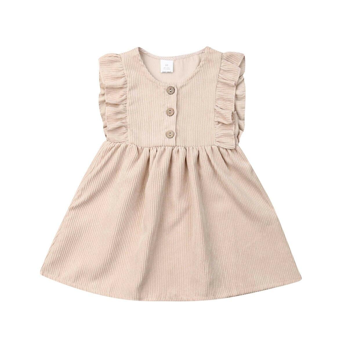 Recién Nacido bebé niñas Casual princesa vestido de fiesta vestido de verano ropa Reino Unido Canis