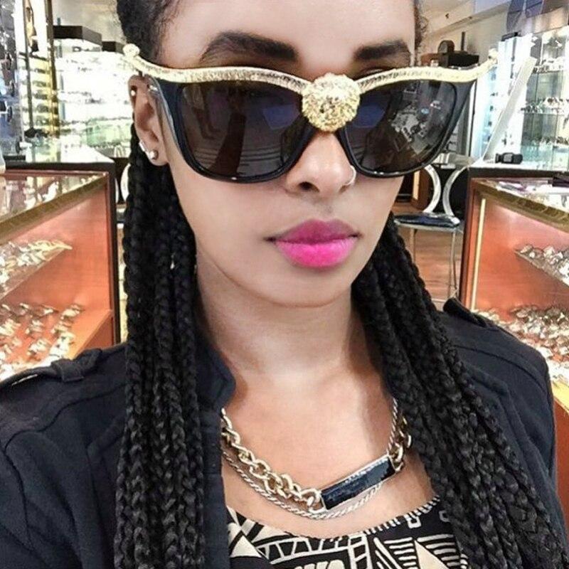 RBUDDY 3D los Leones salvajes cabeza gafas de sol de las mujeres...