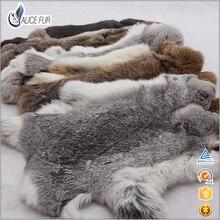 Fourrure de lapin cru   Peau de lapin naturelle/matériel en fourrure de lapin