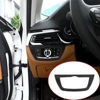 carbon fiber for bmw 5 series g30 528li 530li 2017 2018 car abs chrome headlight frame trim car accessories