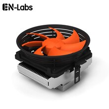 En-labs refroidisseur de processeur Super silencieux avec ventilateur 100mm pour Intel LGA775/LGA1155/LGA1156, AMD Socket 754/939/AM2/AM2 +/AM3/FM1/FM2