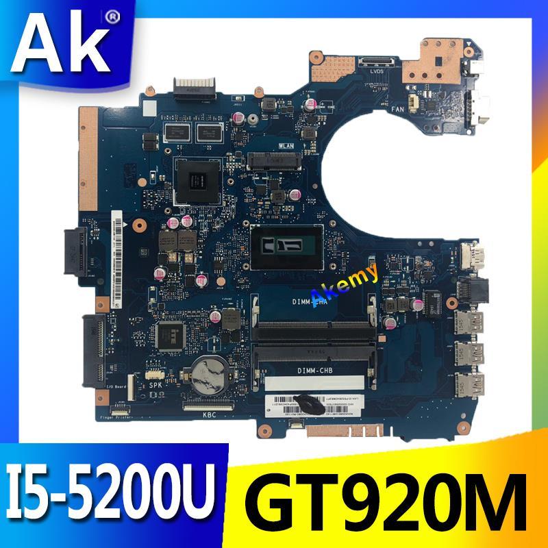 AK P552LA_LJ اللوحة لابتوب Asus P552LA P552LJ P552L P552 P2520LA P2520LJ اختبار اللوحة الأصلية I5-5200U GT920M