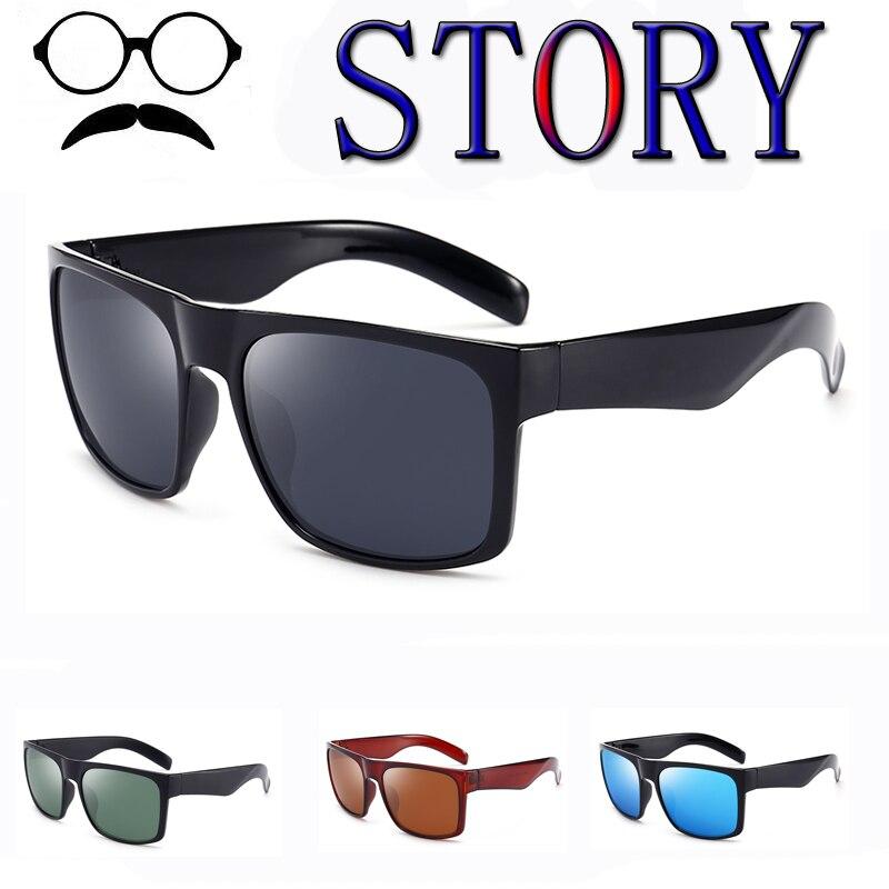 Gafas de sol polarizadas hombres revestimiento de espejo para conducir, para pescar Plaza UV400 Retro deporte gafas de hombre, gafas de sol para hombres