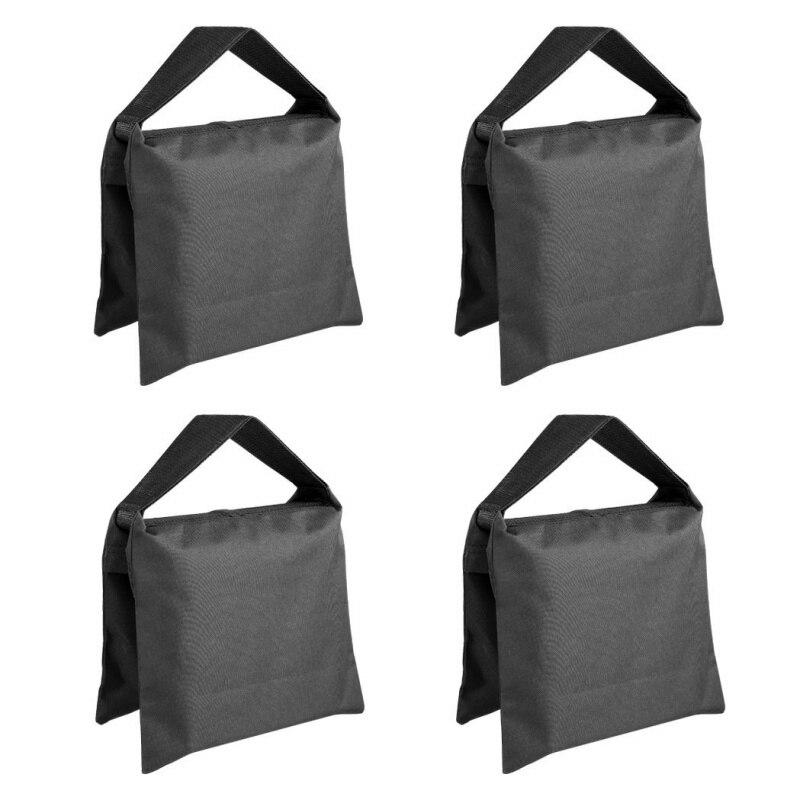 Ttkk 4 pacotes de vídeo do estúdio do saco de areia da foto do elevado desempenho para suportes da iluminação, suporte da forca, tripé
