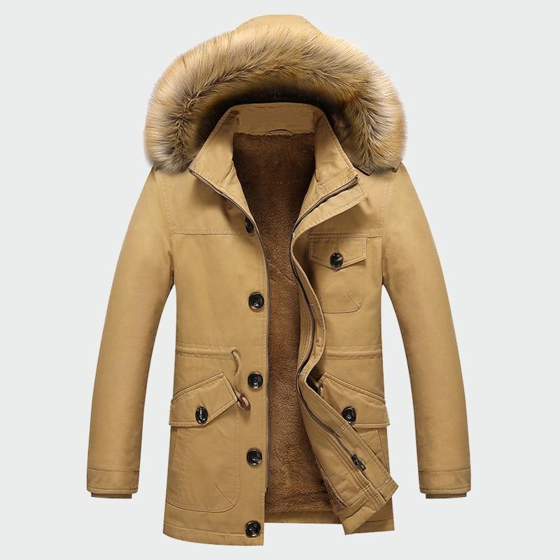 Abrigos gruesos de invierno para hombre, chaquetas de abrigo para hombre, informal acolchado con capucha, Parka térmica, nuevos abrigos para hombre, ropa de marca para hombre M-5XL ML071