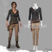 Lara Croft Cosplay deguisement tombeau Raider Lara Croft deguisement noel nouvel an ensemble jeu deguisement Cosplay adulte femme personnalisé