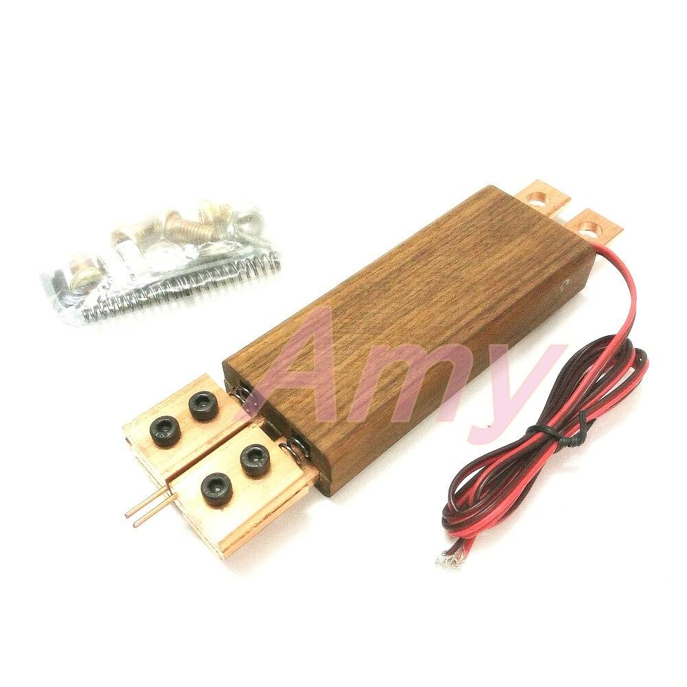 Bricolage stylo intégré interrupteur à gâchette automatique intégré stylo de soudage par points poignée stylo de soudage par points 18650 batterie stylo tactile