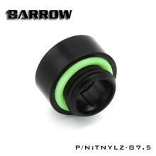 Barrow – extension G1 / 4 , noir et or, dans le siège de la vis dentaire (étendu 7.5MM), raccords de refroidissement à eau TNYLZ-G7.5