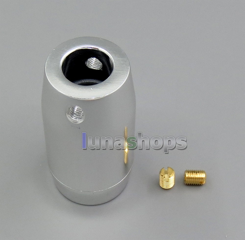 LN005442 مع حلقة مغناطيسية HiFi الألومنيوم الفاصل مكبر الصوت الطاقة كابل محول سلك التوصيل