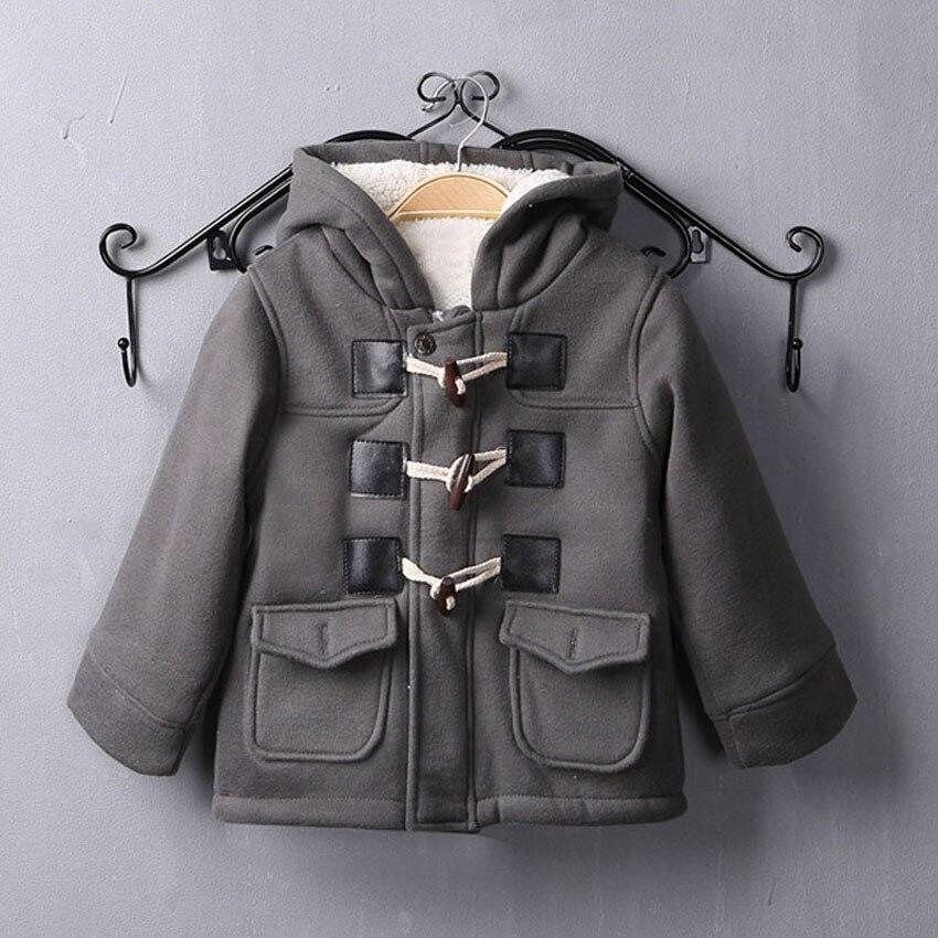Benemaker/детская зимняя куртка для девочек и мальчиков; Флисовая ветровка; Детская одежда; Плотное шерстяное пальто; Детская одежда; Верхняя одежда; JH090-1