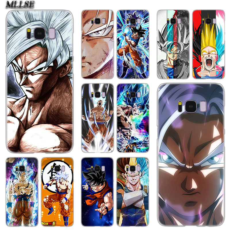 MLLSE Ultra Instinct Goku en Dragon Ball mode housse pour Samsung Galaxy S10 Lite S9 S8 Plus S7 S6 Edge S5 S4 Mini couverture