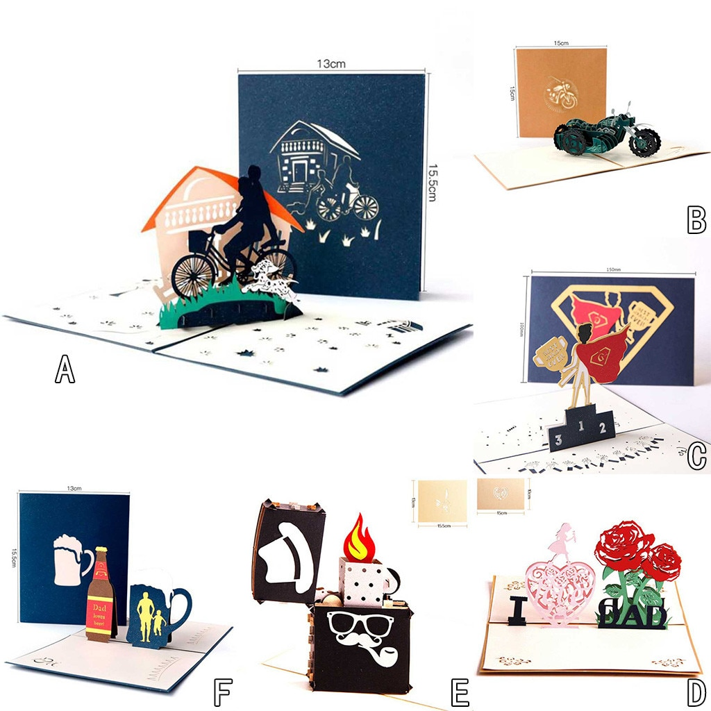 Convites de casamento de papel perolado eu amo o pai criativo presente de casamento de papel perolado
