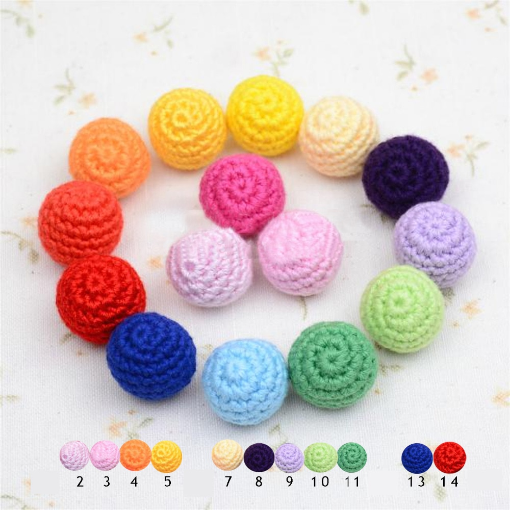 12 Uds paquete Bola de ganchillo hecho a mano acrílico suéter de hilo bolas 11 colores para sus accesorios de artesanía para manualidades mezcla de color disponible