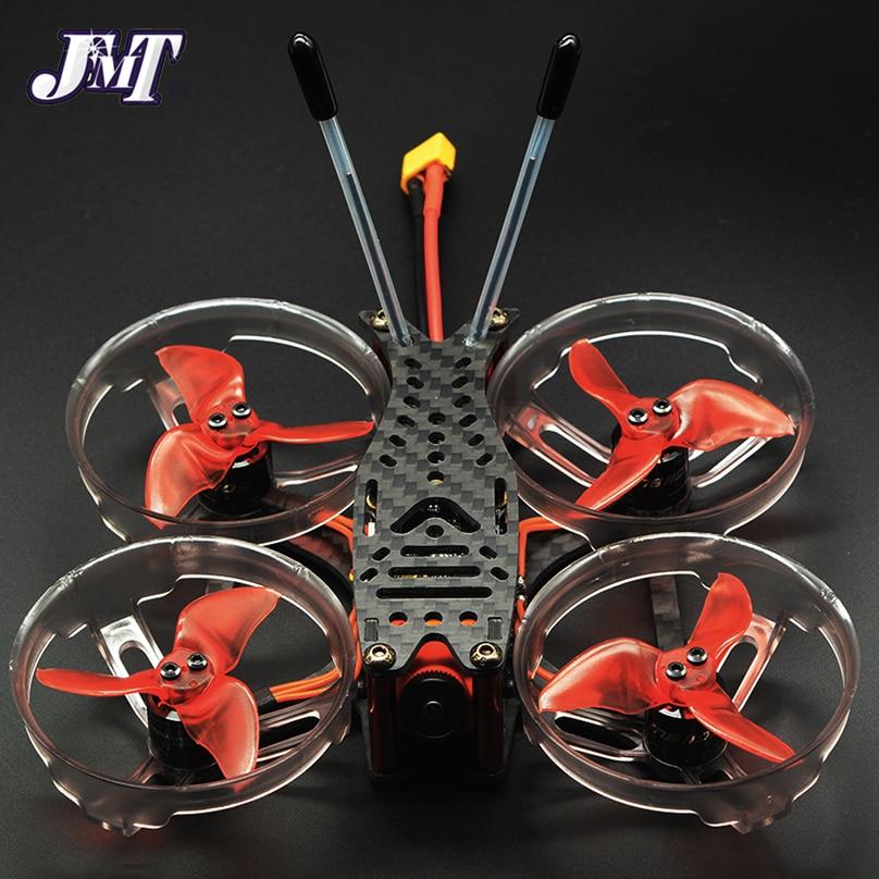 JMT 3K Marco de fibra de carbono de 2 pulgadas 100mm hélice apoyo de guardia Protector para DIY FPV Racing Quadcopter