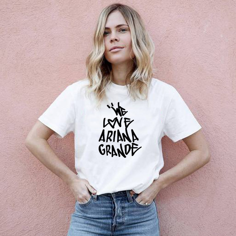 Camisetas para mujeres One Love Manchester Graphic Tees mujeres 100% algodón Camisetas...