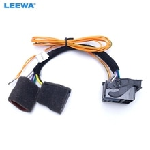 LEEWA-fil dadaptateur CANBUS   Pour VW CD Player RNS510 RCD310 RCD510 RNS315 #1733