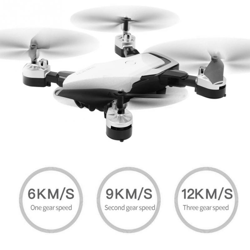 Dron HJ28 RC con cámara HD 720P 1080P gran angular WIFI FPV plegable Drone altitud mantener vuelo largo tiempo helicóptero Quadcopter