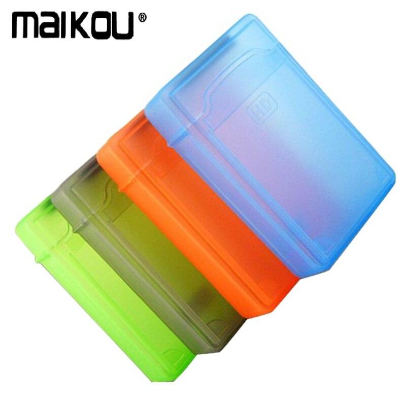 "Maikou, caja de disco duro portátil de 3,5 ""IDE Sata HDD, caja de disco duro, caja de protección de plástico (1 Unidad)"