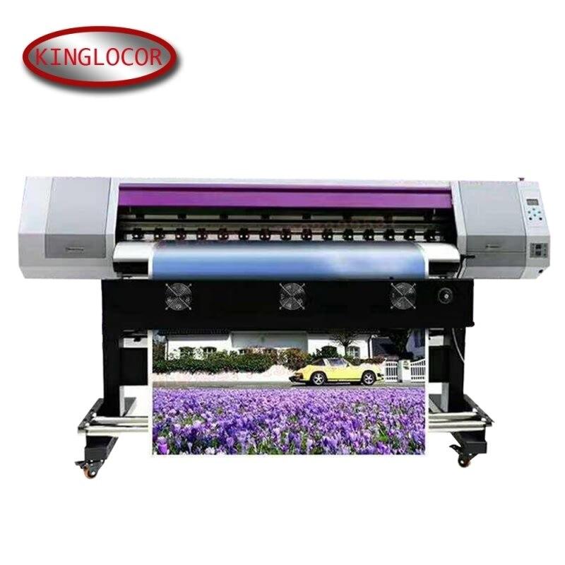 5,2 pies 18,5 de alta velocidad de la máquina de impresión de etiquetas adhesivas digitales una máquina de impresión de Color del cabezal de impresión XP600