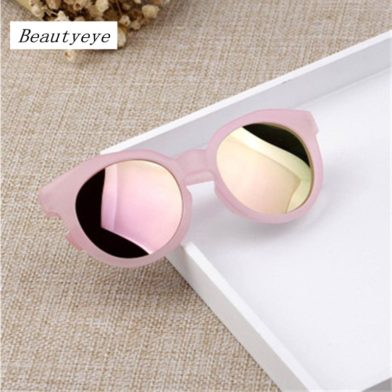 Beautyeye Brand 2018 New Kids Sunglasses Grils Lovely Baby Sunglasses Children Glasses Sun Glasses F