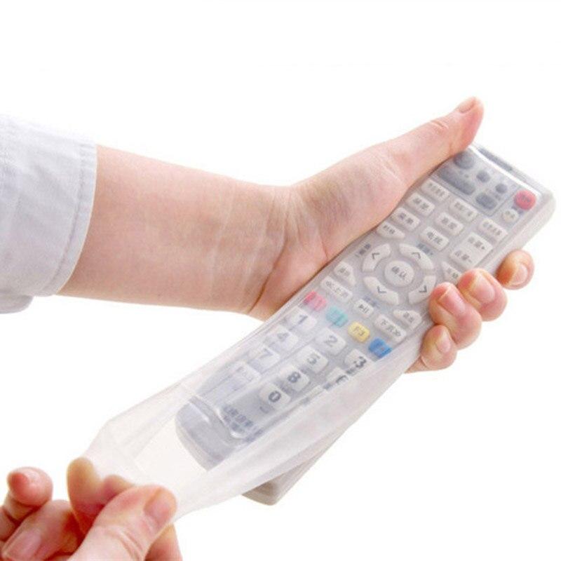 1 pcs Silicone Vídeo TV Controler Remoto de Ar Condicionado Protetor de Casos de Proteção Capa de Poeira À Prova D Água Sacos De Armazenamento Bolsa & 3001