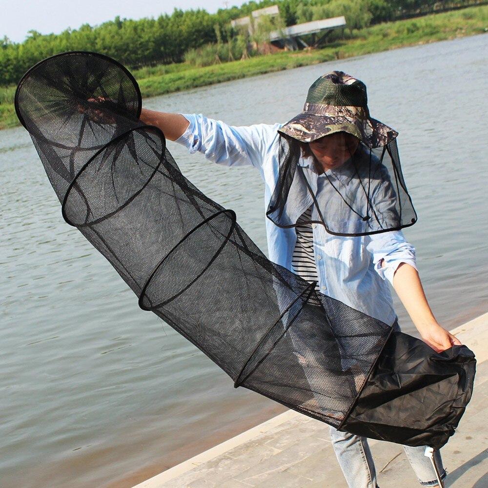 Súper fuerte 5-capa de red de pesca PE Material negro Color Drive-In Net monofilamento pequeña malla red de pesca