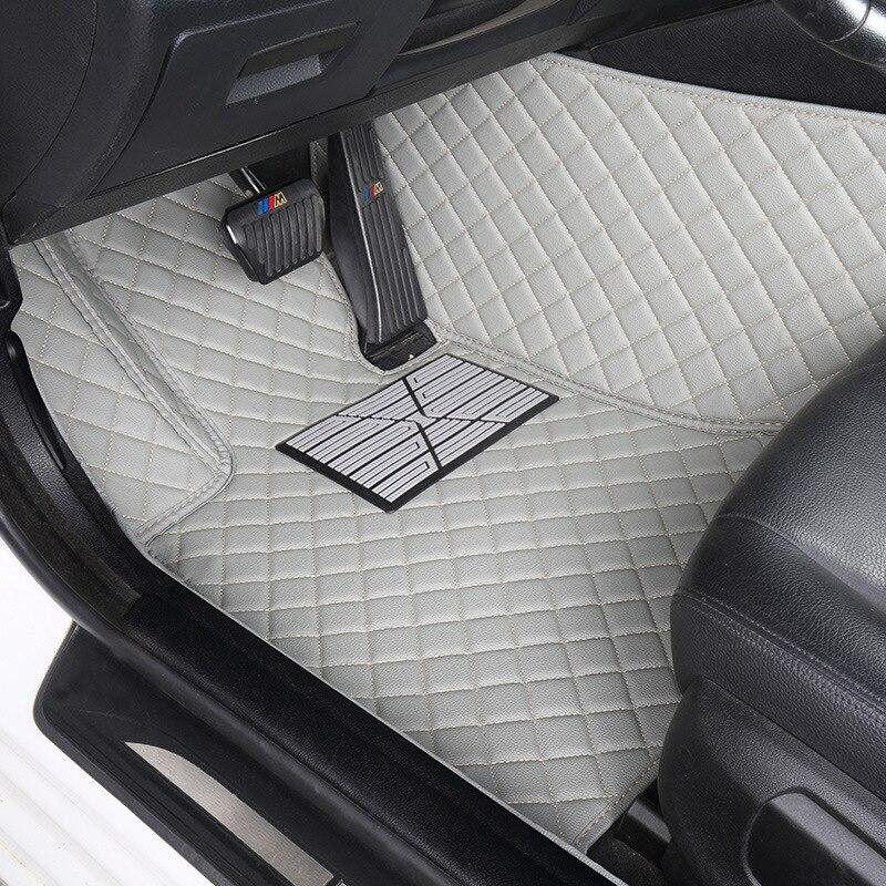 HLFNTF coche personalizado alfombras de piso para todos los modelos D-MAX MU-X...