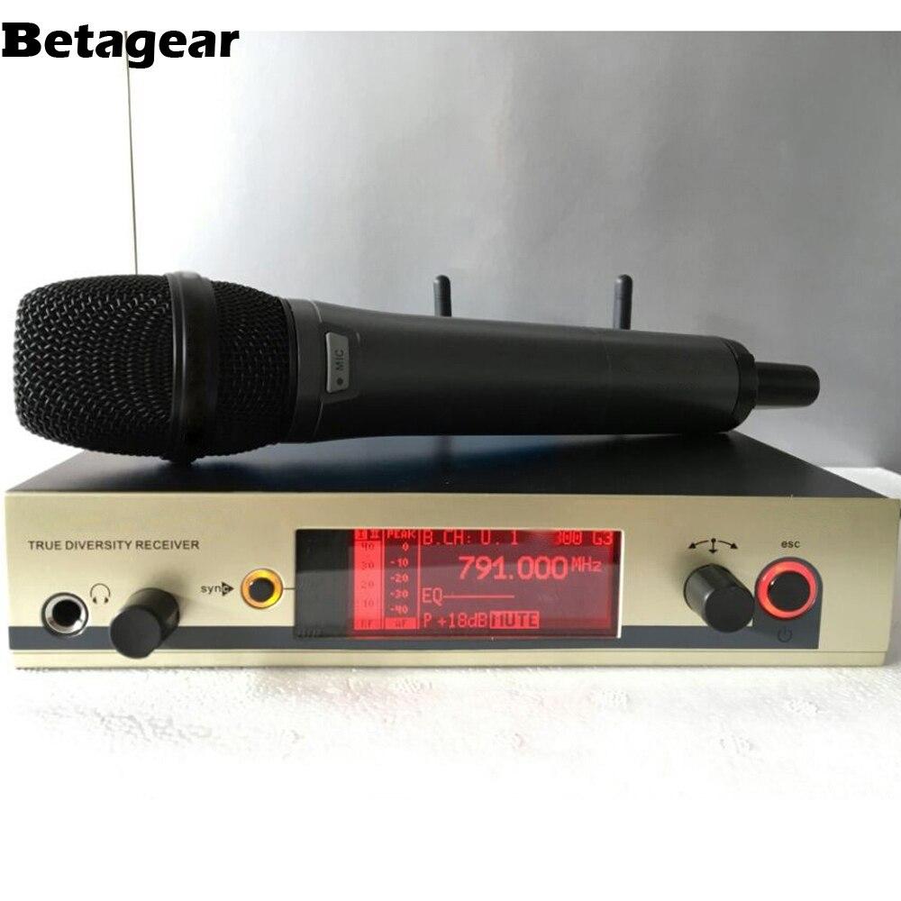 Micrófono inalámbrico Betagear, envío gratis, 300G3 uhf, marcas, micrófonos dinámicos profesionales, sistema de karaoke de alta gama, logo mic ew