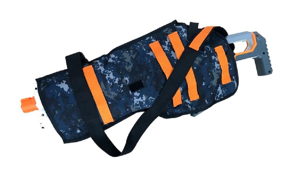 Cool camuflaje Tactics funda de pistola chaqueta de bolsillo o rellenar balas para Nerf pistola bolsa chaleco táctico n-strike Elite juego