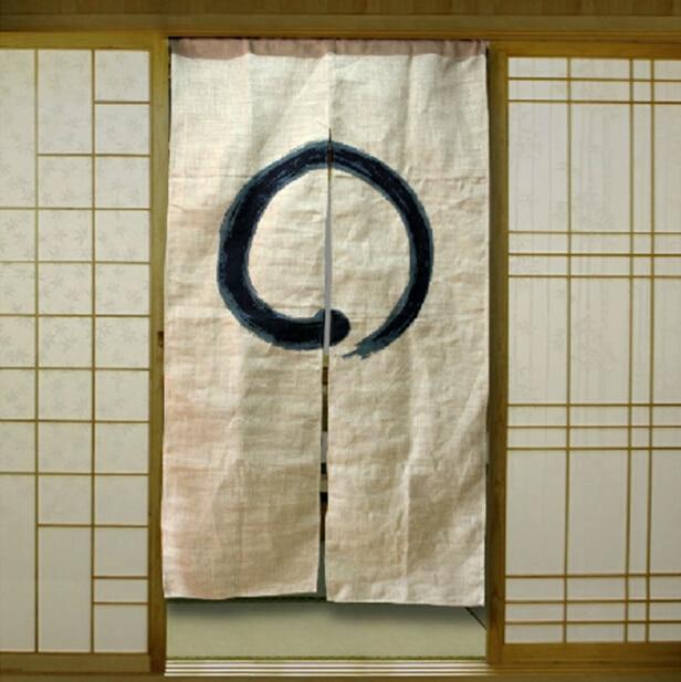 (مخصصة قبول) كوريا/اليابان/الصين السوشي مطعم المطبخ شنقا انقسام الستار-فنغشوي (85x150 سنتيمتر)