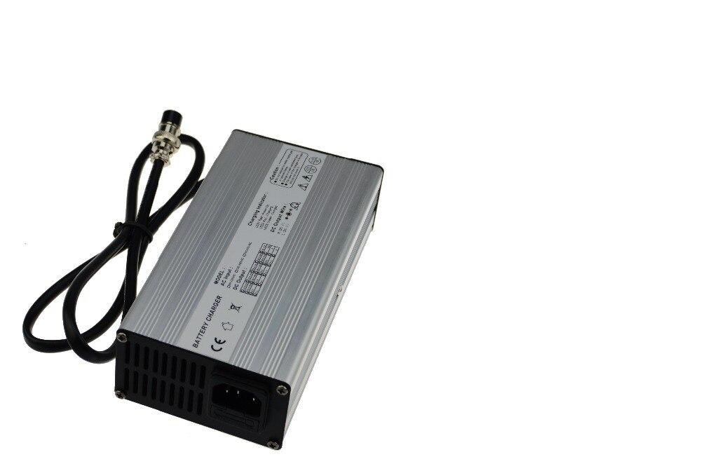 Alumínio 72 v (84 v) 2.5a e-bike lipo carregador de bateria-84 volts 2.5amp 20 s li-ion carregador de bateria