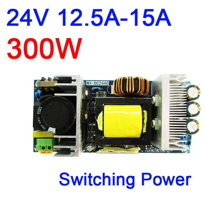 DYKB 300W AC-DC convertidor de alta potencia AC 220V-240V a 24V 15A interruptor Módulo de placa de alimentación aislado potencia integrada