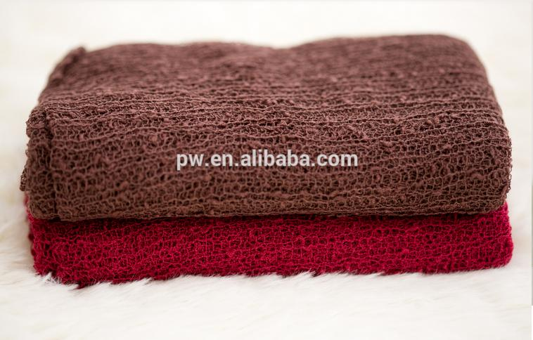 20 pieces /lot 40cm x 150cm Newborn Wraps Knit stretch Wrap Baby Wrap Newborn Swaddle Blanket Cocoon Photography Props