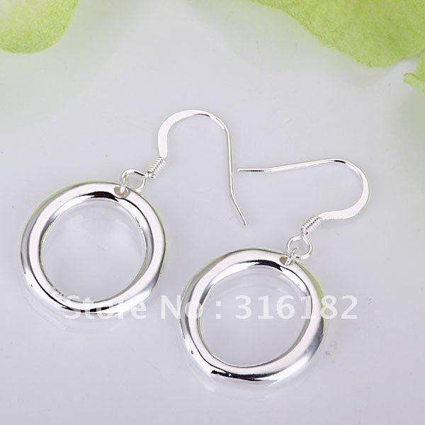 Pendientes de joyería de moda al por mayor, pendientes de color plata M925. Joyería bonita, Buena calidad E42