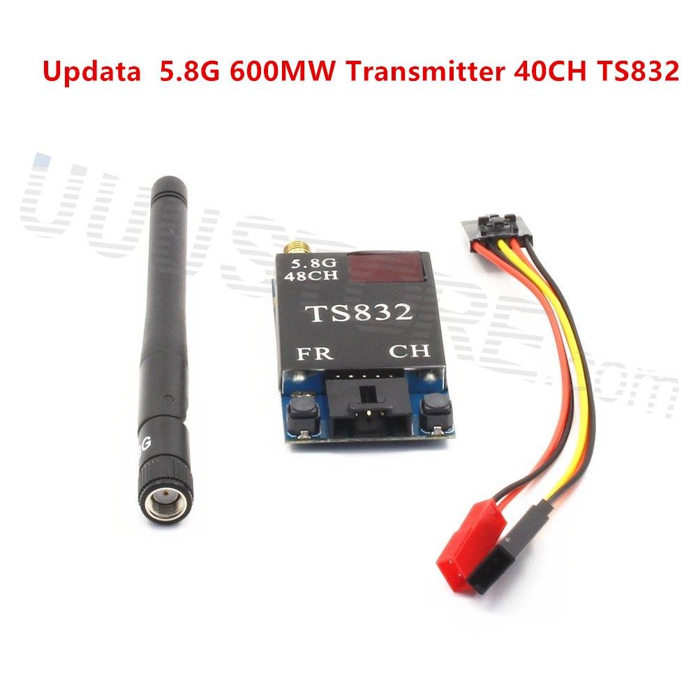 FPV RC 5.8G 5.8GHZ  600mW Update 48CH Wireless Video Transmitter (TX) Module TS832 RP-SMA Airplane ZMR250 QAV280 QAV250 Drone