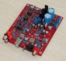 USB DAC декодер плата AD1955 + WM8805 + PCM2706 + AD827 оптический волоконный коаксиальный Одноцветный конденсатор для платы усилителя