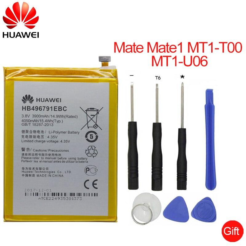Hua Wei 1 HB496791EBC Substituição Da Bateria Do Telefone 3900 mah para Huawei COMPANHEIRO Ascend MT1-U06 MT2-L02 MT2-L05