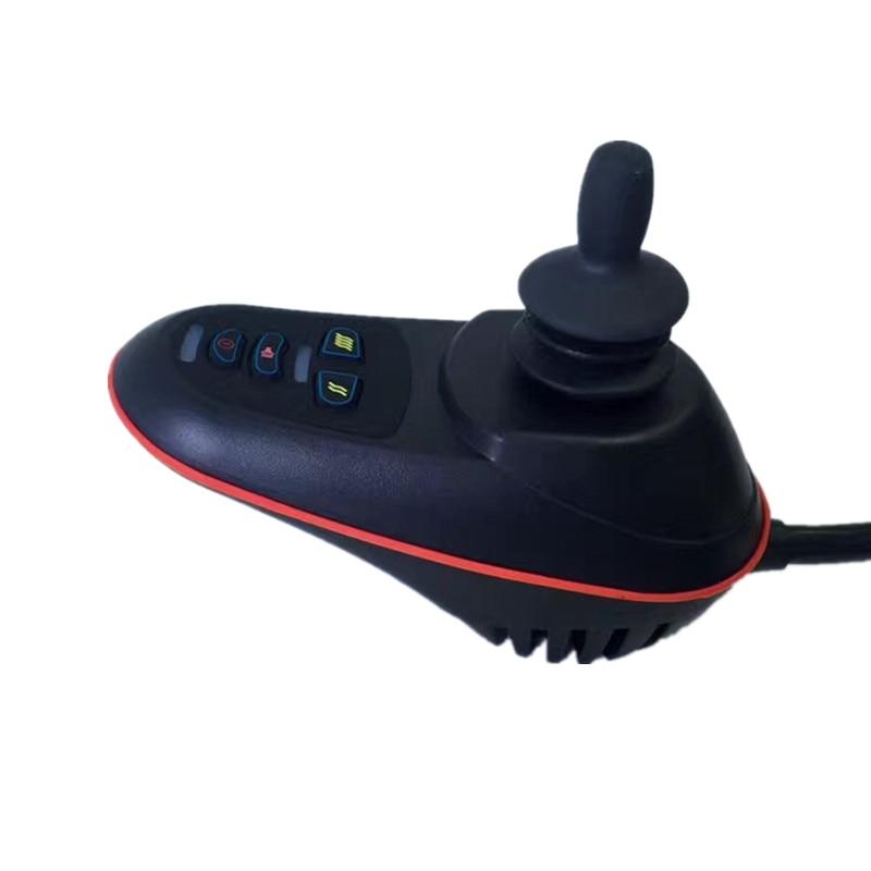 حار بيع USB شحن ميناء جهاز التحكم في عصا التحكم لكرسي متحرك كهربائي