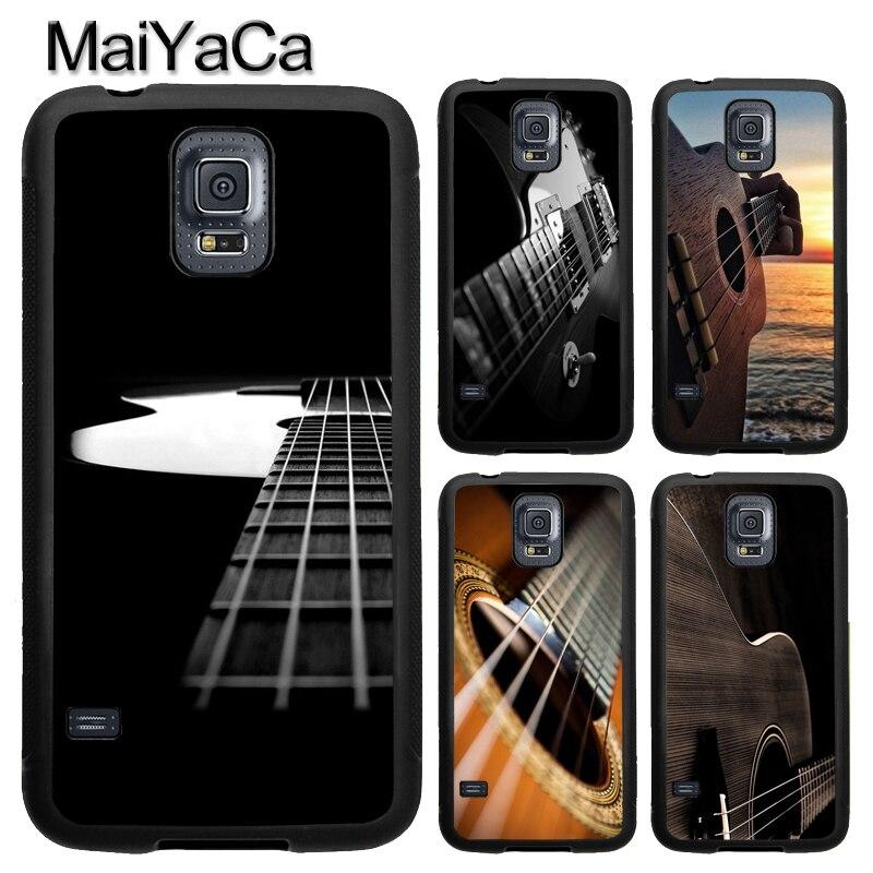 Music Guitar Instrument Case For Samsung Galaxy A71 A51 A50 A70 A10 A20 A30S A40 Note 10 S8 S9 S10 S20 Ultra Plus S10e S7